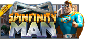 Spinfinity Man - lekker nytt spill fra Betsoft